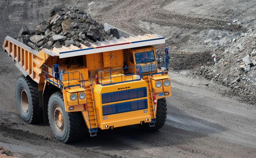 ash coal quarry